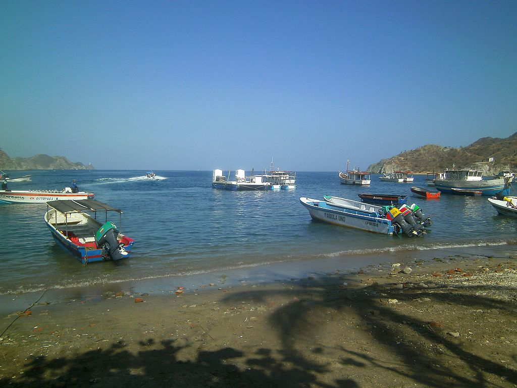 Boats Taganga Harbour