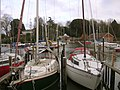 Boats moored at Eling - geograph.org.uk - 24743.jpg