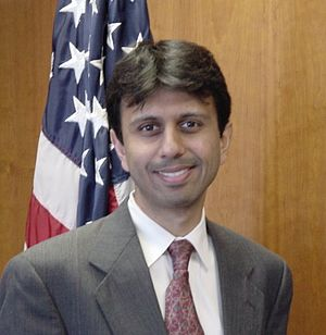 Bobby Jindal at Department of Health and Human...
