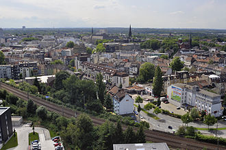 Bochum - Bochum in mid-August 2010