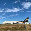 Boeing 747-8F Aircraft for UPS Airlines in Paine Field Airport.jpg