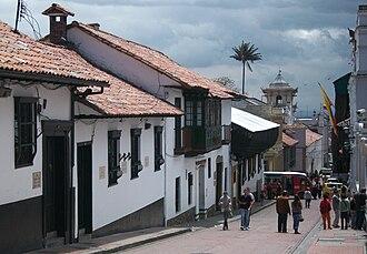La Candelaria - Street of La Candelaria.