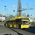 Bogdan T701 trolleybus in Kiev.jpg