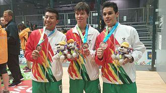 Bolivia at the 2015 Pan American Games - Bolivia's bronze medal winning men's team