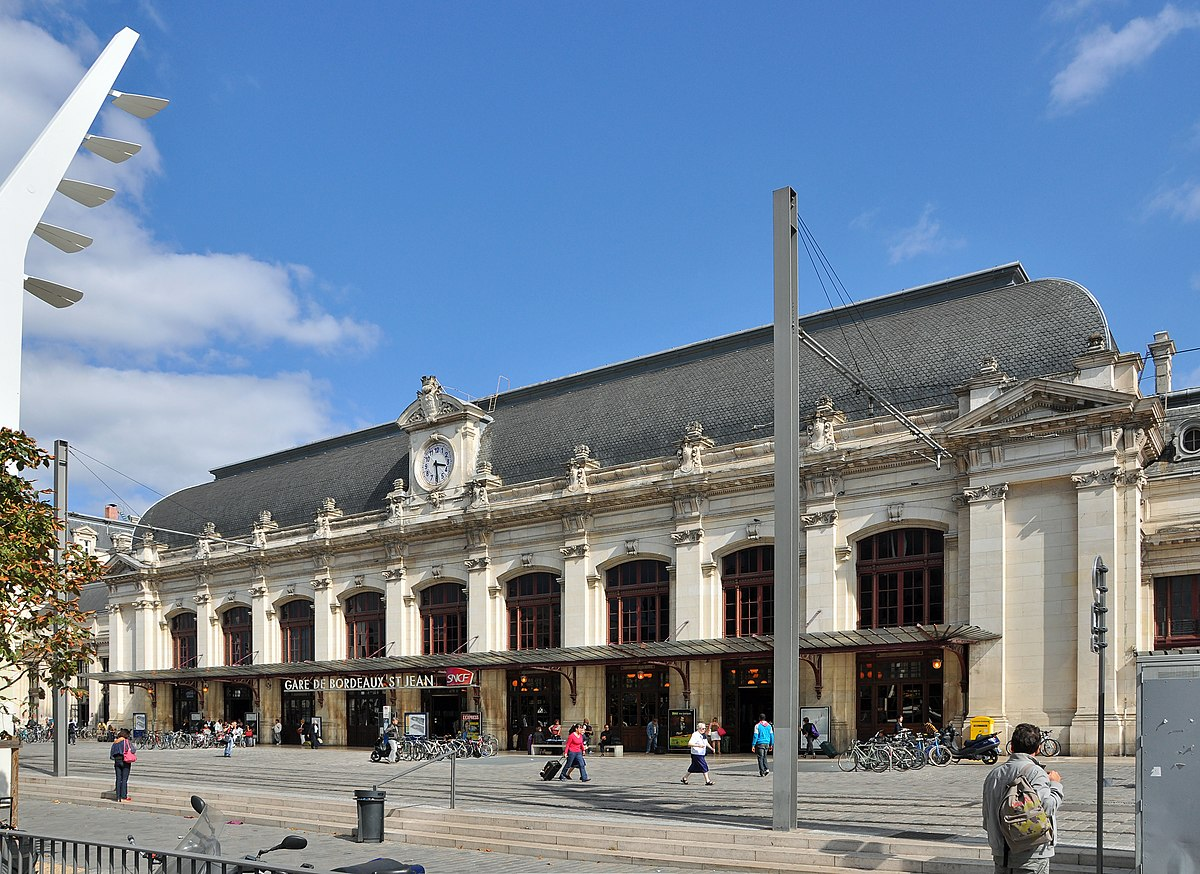 station bordeaux saint jean wikipedia. Black Bedroom Furniture Sets. Home Design Ideas
