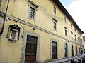 Borgo pinti 60, istituto s. silvestro, tabernacolo 01.JPG