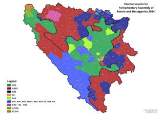 2014 Bosnian general election