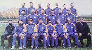 a5410eeba Bosnia and Herzegovina national football team - Wikipedia