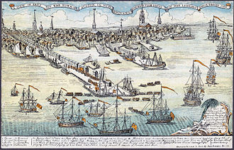 Samuel Adams - Paul Revere's 1768 engraving of British troops arriving in Boston was reprinted throughout the colonies.