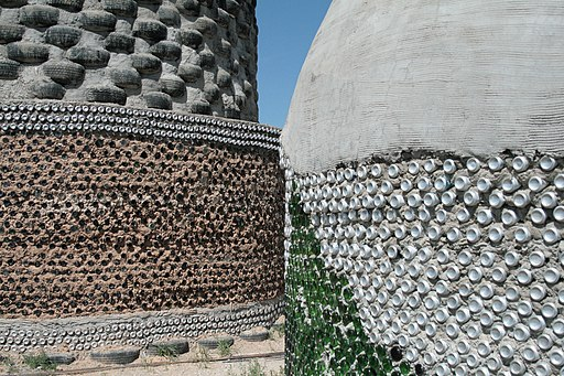 Bottle, Tire and Brick walls of Earthships