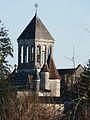 Bourdeilles sénéchal et église.JPG