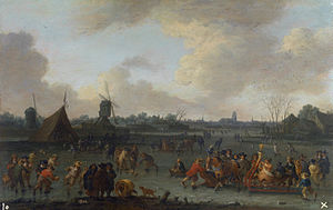Pieter Bout - Ice Skaters
