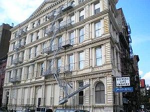 Bouwerie Lane Theatre - The Bond Street facade (2006)