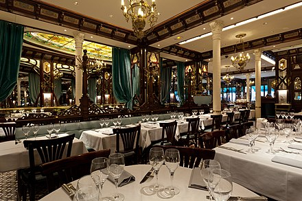 Dining room of the Vagenende Brasserie Vagenende 1.jpg
