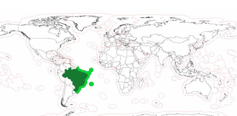 Brazil Exclusive Economic Zones