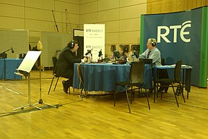 Morning Ireland - Brian Cowen on Morning Ireland at the 25th Anniversary celebration
