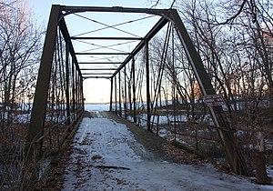 National Register of Historic Places listings in Le Sueur County, Minnesota - Image: Bridge 4846Shanaska Creek MN