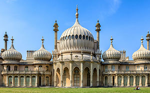 Royal Pavilion - View of the Royal Pavilion