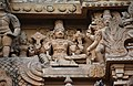 Brihadishwara Temple, Dedicated to Shiva, built by Rajaraja I, completed in 1010, Thanjavur (178) (37466675202).jpg