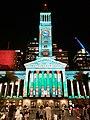 Brisbane City Hall Christmas light show, 2019, 05.jpg