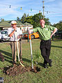 Brisbane Valley Rail Trail opening Coominya 2008.JPG