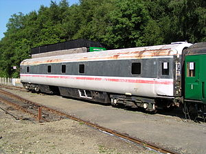 Sleeper Either Class - Providing accommodation at a heritage railway