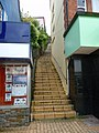 Brixham - Flight Of Stairs - geograph.org.uk - 1633170.jpg