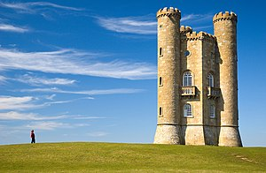 Broadway Tower, Cotswolds, England.