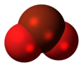 Bromine dioxide molecule spacefill.png