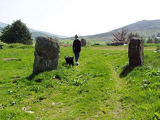 Finegand - Broughdearg stones, near Finegand