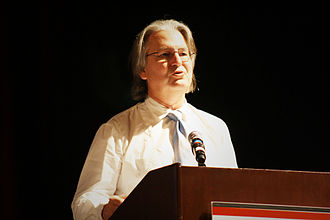 Bruce Sterling - Bruce Sterling at the 2010 Augmented Reality Event