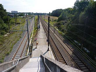 Evere railway station - Evere railway station