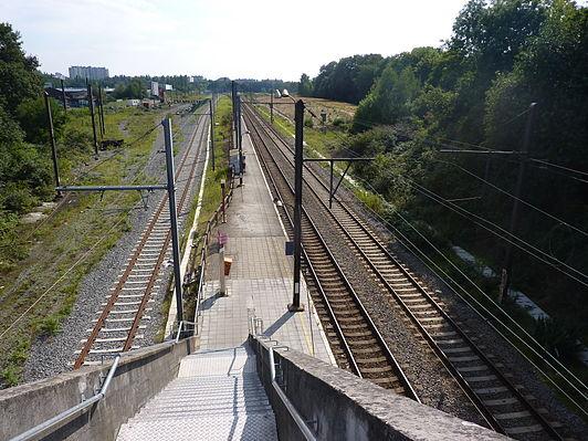 Evere railway station