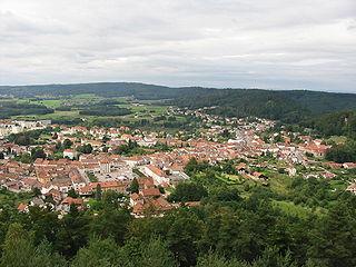 Bruyères Commune in Grand Est, France