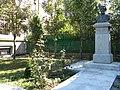 Bucuresti, Romania, Bustul lui Dimitrie Onciul situat in curtea Cladirii Arhivelor Nationale avand codul B-II-m-B-18690.JPG