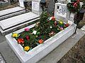 Bucuresti, Romania, Cimitirul Bellu Catolic, Mormantul Compozitorului Dan Iagnov (Feb. 2015).JPG