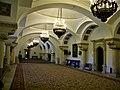 Bucuresti, Romania. MUZEUL NATIONAL COTROCENI. Sala mare de receptie cu candelabre aprinse. (B-II-a-A-19152).jpg