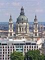 Budapest, St.-Stephans-Basilika vom Burgberg 2014-08.jpg