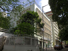 Buddhist Wong Fung Ling College (full view and sky blue version).jpg