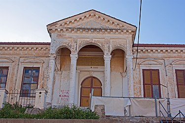 Building at Church of Saint John of the Collachio, Rhodes 2.jpg