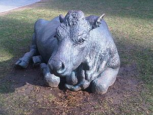Bull Market - sculpture at Toronto-Dominion Ce...