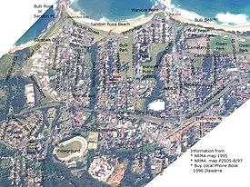 Bulli Map