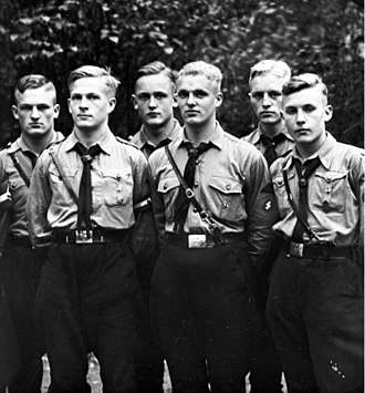 Hitler Youth - Members of the Hitler Youth chosen by the NSDAP Office of Racial Policy