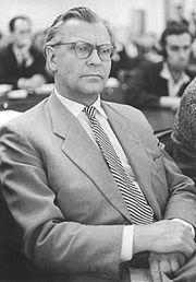 Bundesarchiv Bild 183-B0711-0005-033, Oberstes Gericht, Globke-Prozess, Zeuge, Eberhard Rebling