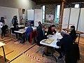 Bureau de vote pour les élections municipales 2020 à Saint-Lô - Dépouillement.jpg
