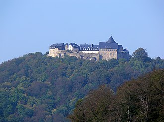 Principality of Waldeck and Pyrmont - Image: Burg Waldeck 1