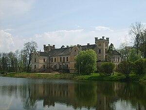 Cīrava Palace - Cīrava palace in 2008