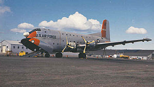 84th Military Airlift Squadron - A C-124C Globemaster II; note the front-opening doors