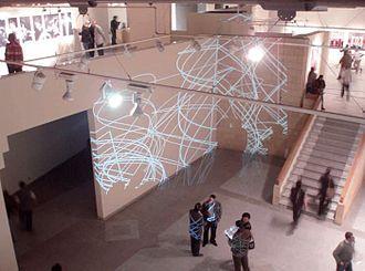 Maurizio Bolognini - Interactive installation, Art Palace, Cairo, 2008
