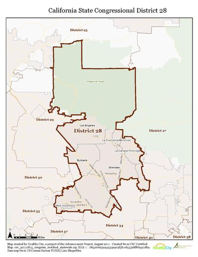 California s 28th congressional district
